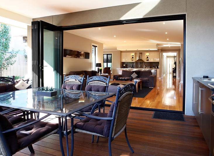 Bi fold doors in market harborough for Living room newcastle