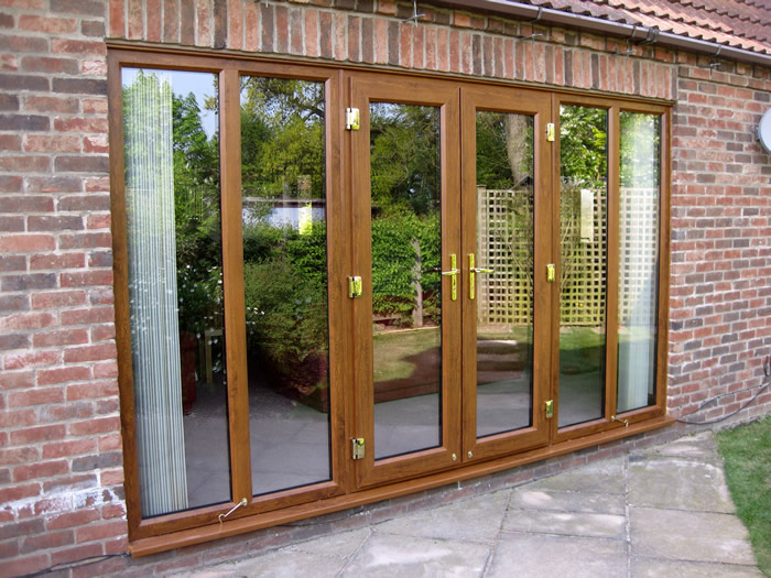 French doors melton mowbray leicestershire dgl for Brown upvc patio doors